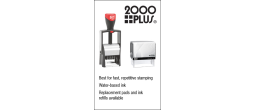 2000 Plus Endorsement Stamps
